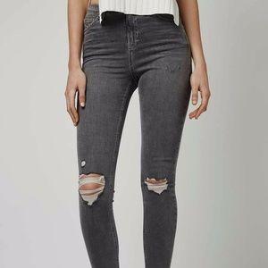 Topshop Jamie Skinny Jeans Sz 25